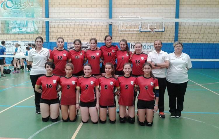El voleibol utrerano, presente en el campeonato de Andalucía