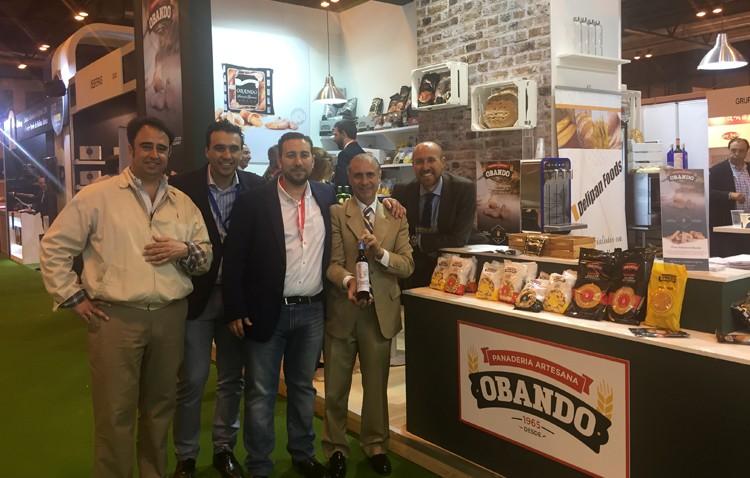 Panaderías Obando, protagonista del «Salón de Gourmets» de Madrid