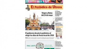 «El Periódico de Utrera» llega con su número 203