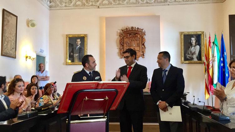 El utrerano Juan María Muñoz Díaz deja la Guardia Civil para ser el nuevo jefe de la Policía Local