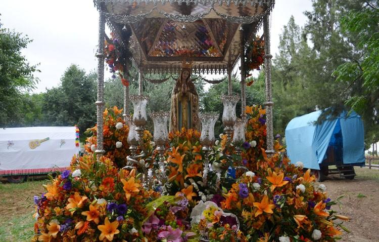 La Virgen de Fátima volvió a peregrinar a Vistalegre (GALERÍA)