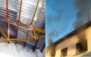 El sindicato denuncia vigas en mal estado y problemas con la extinción de humo en el crematorio, entre otras incidencias