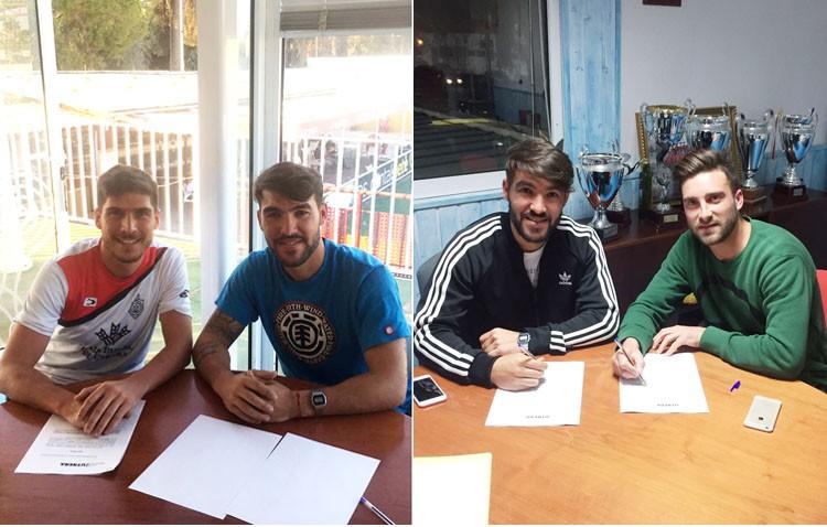 El C.D. Utrera renueva a cinco futbolistas y continúa perfilando la plantilla para la próxima temporada