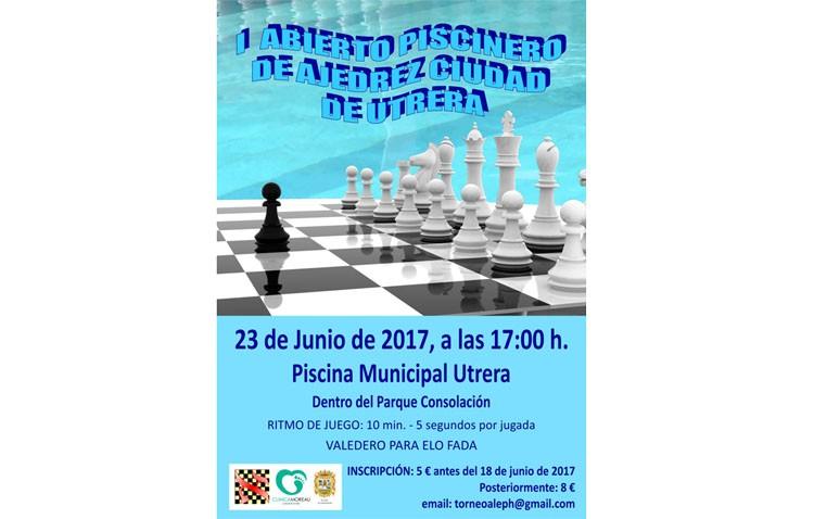 La piscina de Consolación acoge el primer abierto de ajedrez