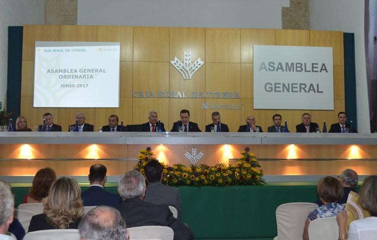 Caja Rural de Utrera cierra 2016 con un beneficio neto de 1,1 millones de euros