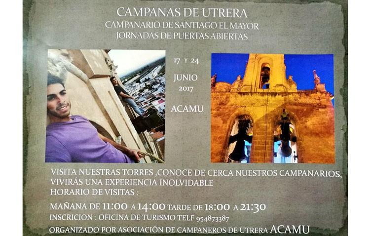 Los campaneros organizan dos jornadas de puertas abiertas en la torre de la parroquia de Santiago