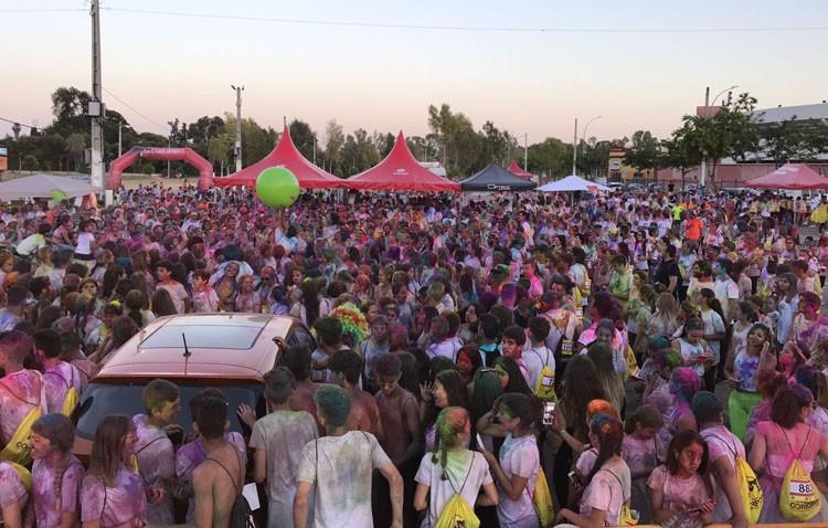 Éxito de la carrera «Utrera de color», con más de 1.500 participantes