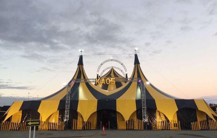 El «Cirkus Kaos», con los Payasos de la Tele, hace parada en Utrera (AUDIO)