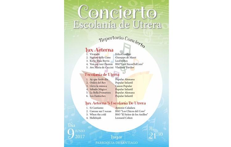 La escolanía de Utrera ofrecerá un concierto en la parroquia de Santiago