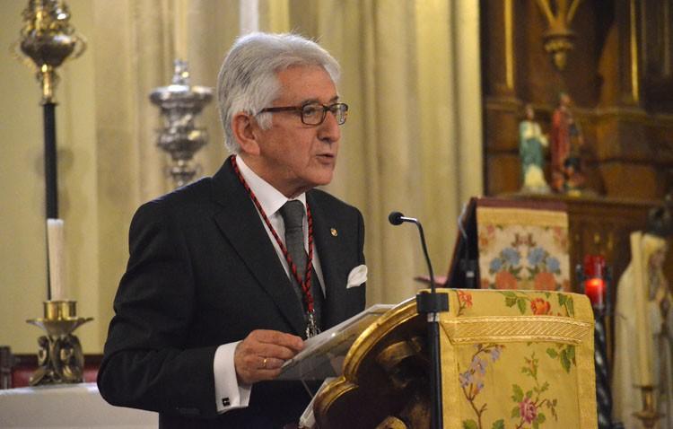 Vivencias y formación eucarística en la exaltación al Santísimo pronunciada por Joaquín Curado (AUDIO)