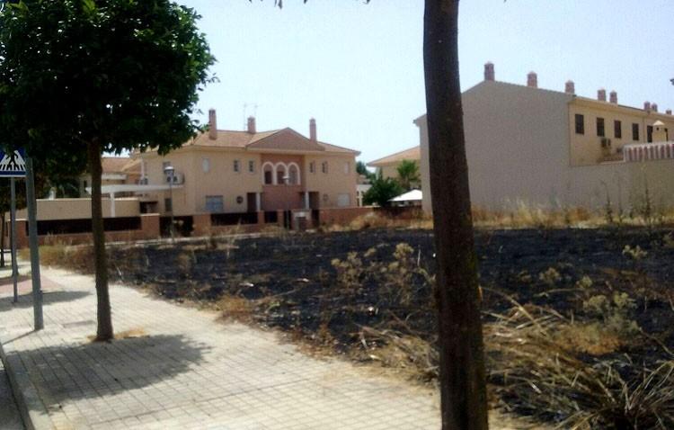 El Ayuntamiento afirma que un «pirómano» está tras los incendios de varios solares y pide la colaboración ciudadana