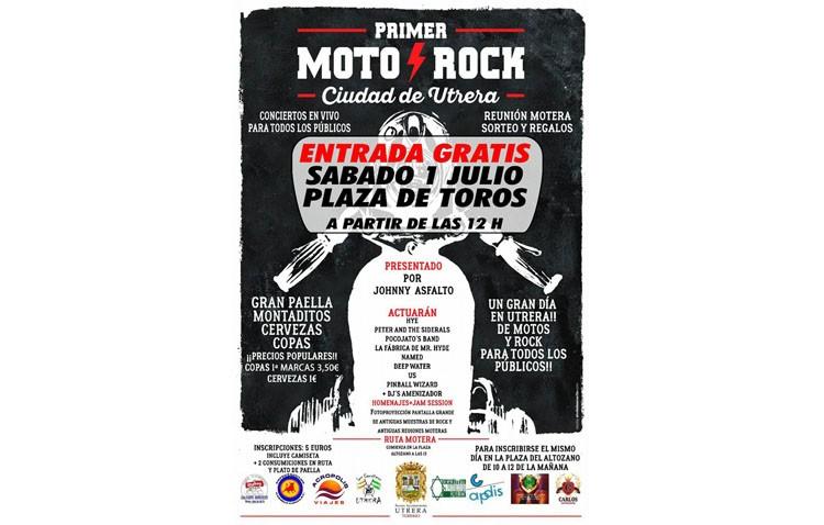 El festival «Moto Rock» llega a Utrera tras haber sido suspendido dos veces por la meteorología