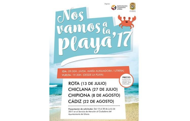 El programa «Nos vamos a la playa» mantiene abierto su plazo de inscripciones