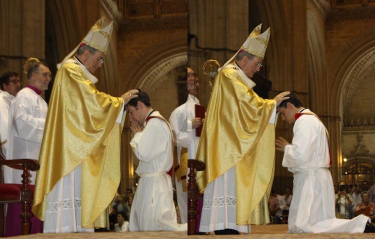 Plácido Díaz y Carlos Romero, dos nuevos jóvenes sacerdotes utreranos (IMÁGENES)