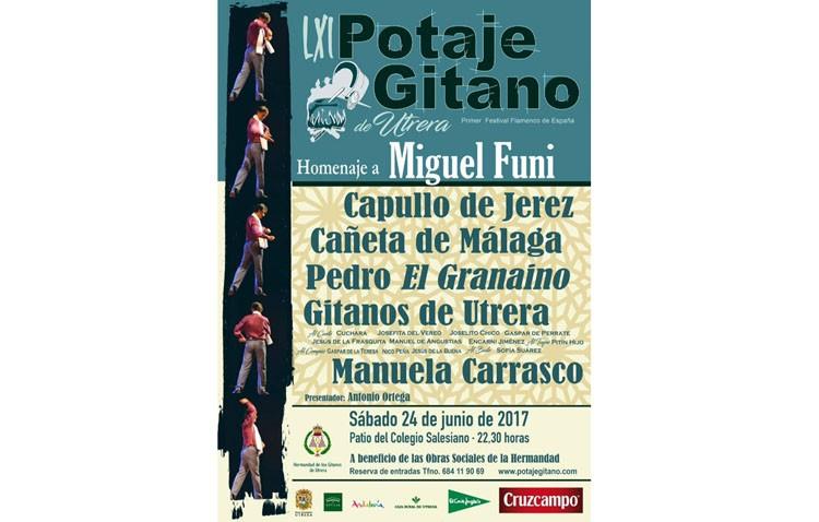 Noche de flamenco con el Potaje Gitano de Utrera