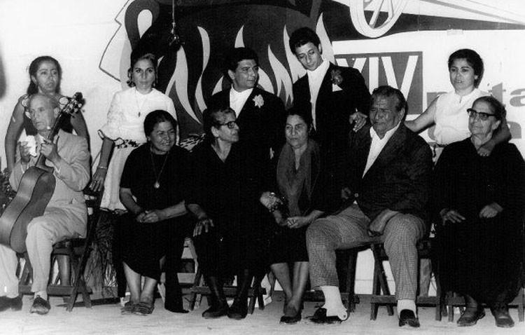 Homenaje de los previos del Potaje Gitano a la saga de los Pinini