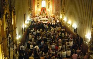 Numerosas personas acudieron a su encuentro con Don Bosco en Utrera