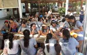 aldaba y mujeres santiago - campamento verano 2