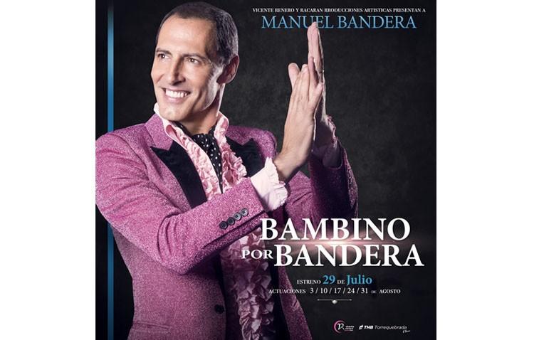 El actor malagueño Manuel Bandera rinde homenaje a Bambino con un espectáculo