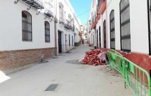Estado de la calle Antón Quebrado