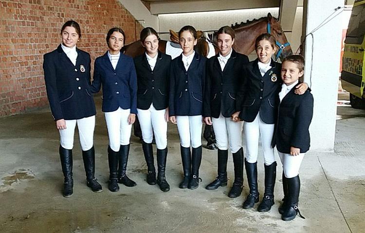 Buenos resultados para los utreranos en el campeonato de España de equitación de ponis