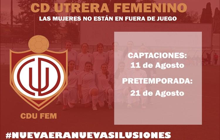 Campaña de captaciones y pretemporada para el Club Deportivo Utrera femenino