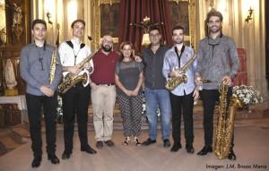 concierto saxofones - parroquia santiago 3