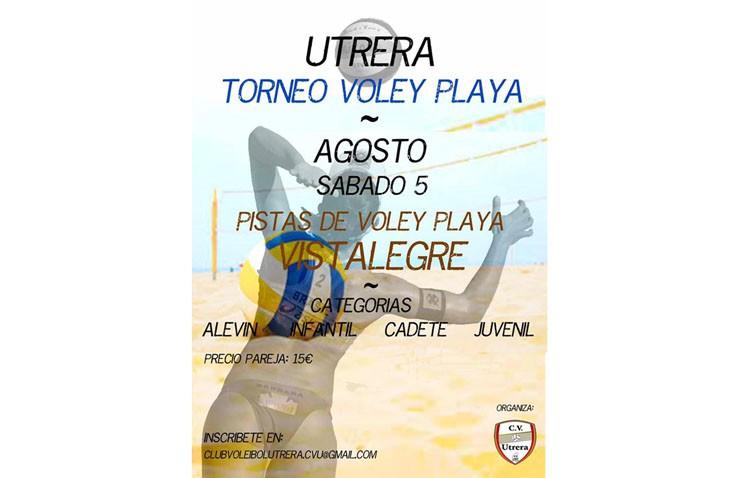 Torneo de voley playa en Vistalegre