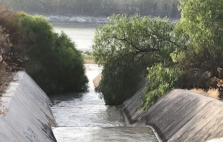 El agua llega por fin al embalse de Torre del Águila