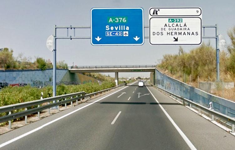 Itinerarios alternativos hacia Sevilla ante el corte de tráfico por el paso de la vuelta ciclista a España