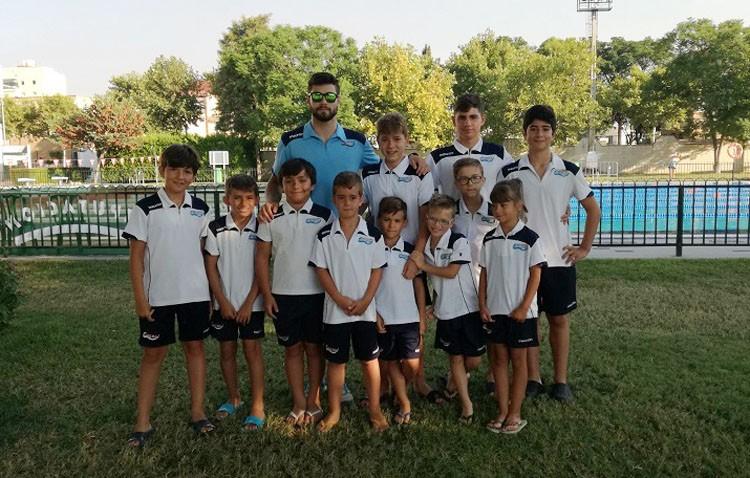 Buenos resultados para los utreranos en la primera jornada del Circuito de Natación de la Diputación de Sevilla