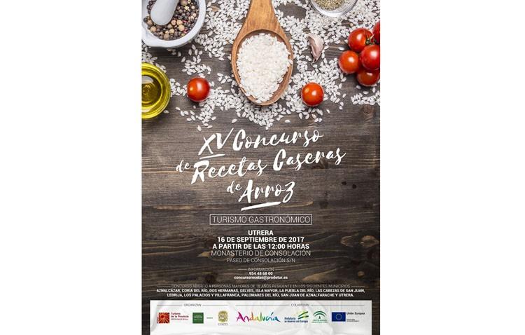Últimos días de inscripción en el concurso provincial de recetas de arroz, que se celebrará en Utrera