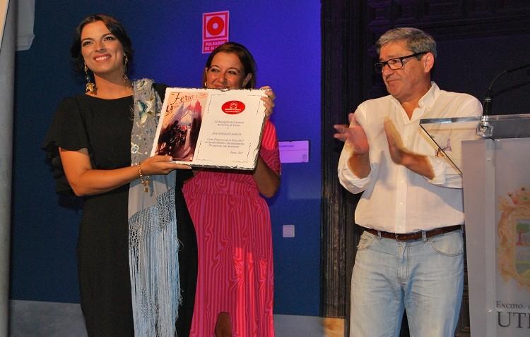 «Una feria utrerana y cantaora» que se inicia con la exaltación de Ana González