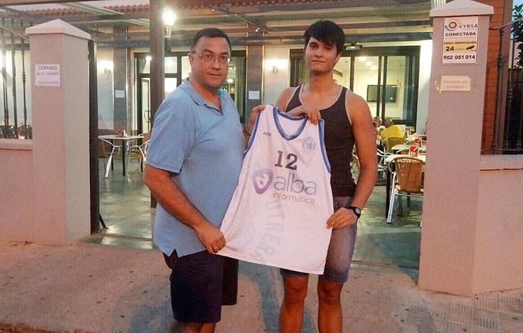 Francisco Javier Márquez, nuevo ala-pívot para el Club Baloncesto Utrera