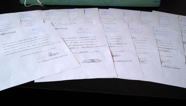 Más de 20 militantes del PP de Utrera se dan de baja «por falta de transparencia en las cuentas»