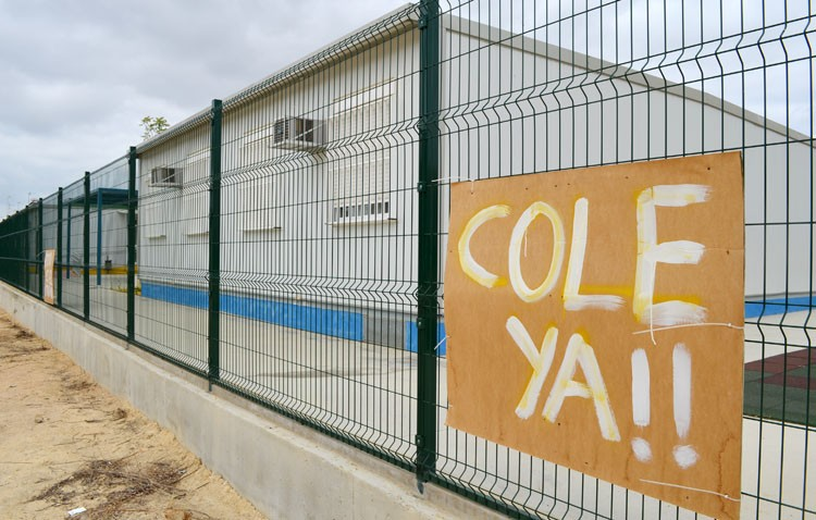 Nuevo retraso en torno al colegio de La Mulata porque la Junta se da cuenta ahora de que la parcela está en pendiente