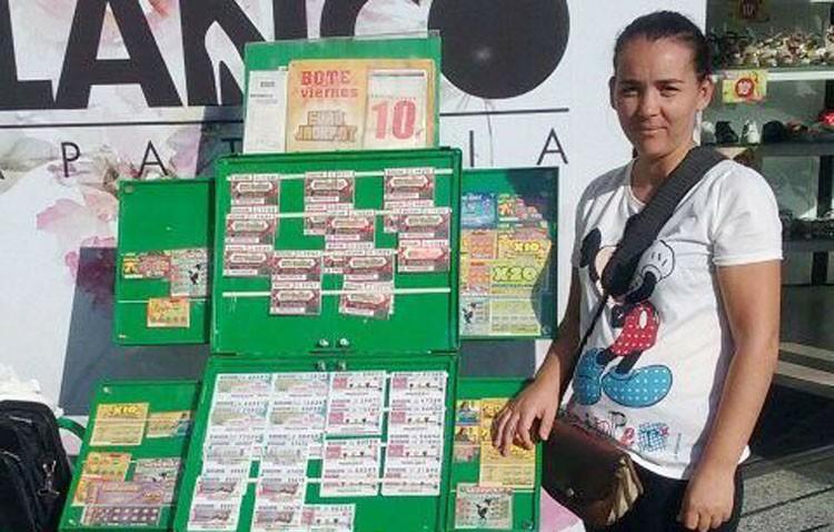Un premio de la ONCE deja en Utrera 35.000 euros