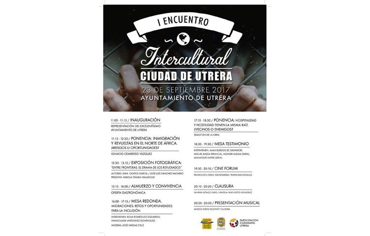 Encuentro intercultural en el ayuntamiento de Utrera