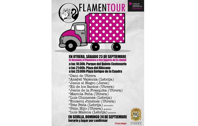 Tres citas flamencas en varios lugares de Utrera con «Flamentour»