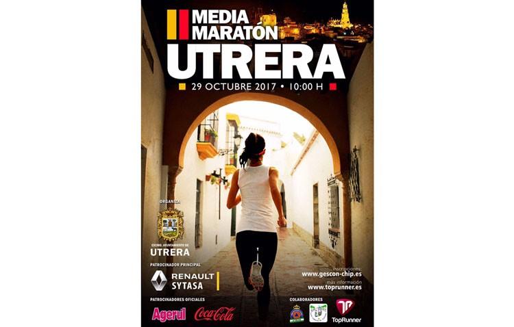 Las calles de Utrera, escenario de la media maratón este domingo