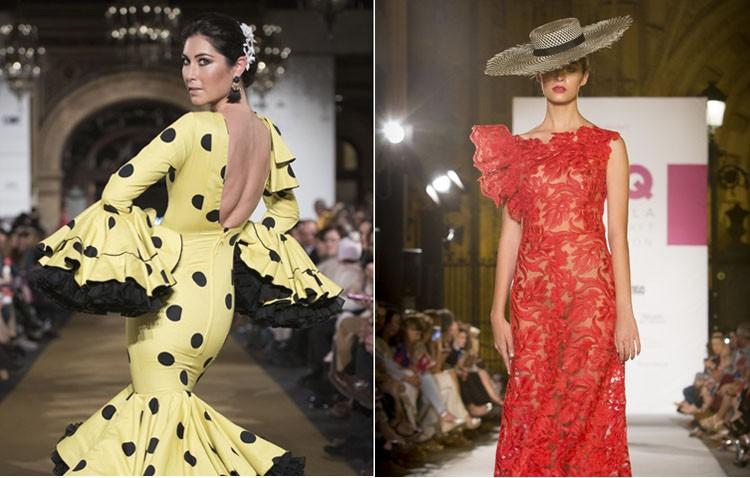 Flamencas de septiembre: un vistazo a la moda en el Real