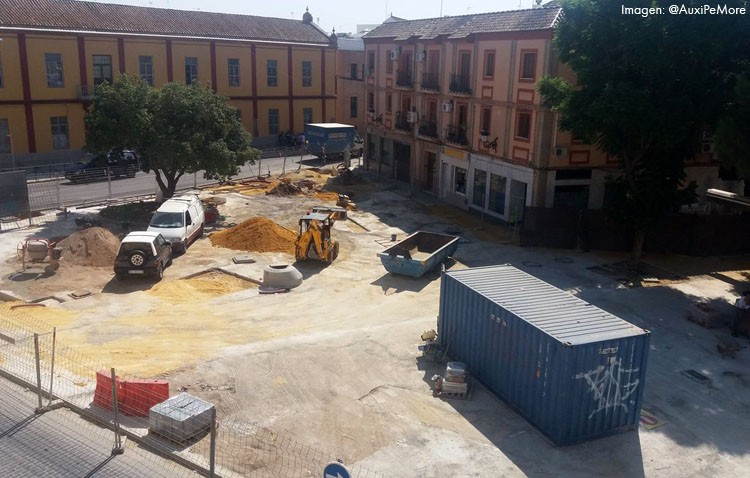 El gobierno local dice ahora que las obras de Pío XII y Catalina de Perea acabarán «antes del final de septiembre»