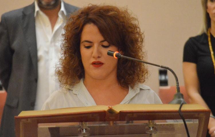 Rocío Sierra Jiménez toma posesión como edil del PA