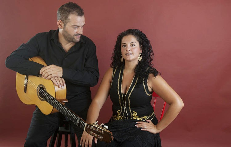 Rocío Segura y Antonio de Patrocinio, protagonistas en la peña flamenca «Curro de Utrera»