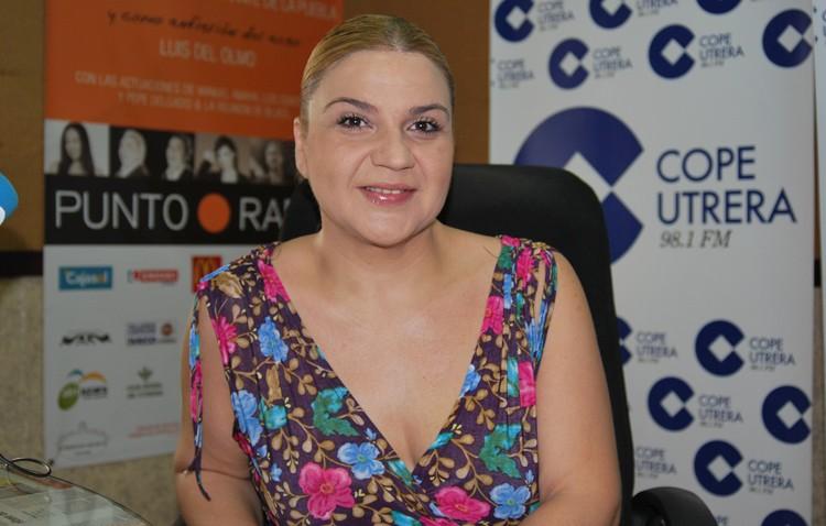 Final del concurso de copla, con Rosa Marín como madrina