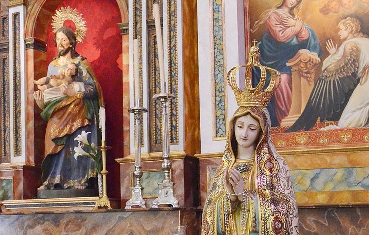 Rosario con la Virgen de Fátima hasta la parroquia de San José