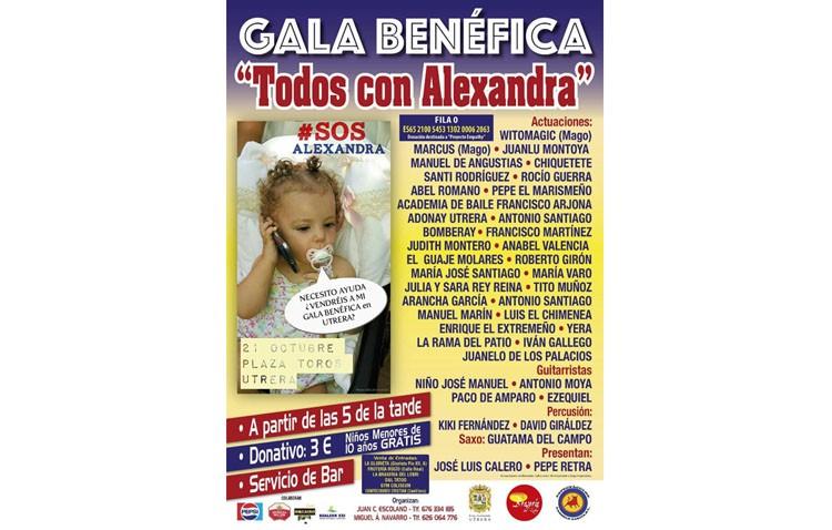 Una gala benéfica con más de 30 actuaciones para ayudar a una niña que padece una enfermedad rara