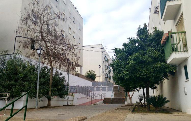 La barriada El Tinte continuará mejorando su accesibilidad