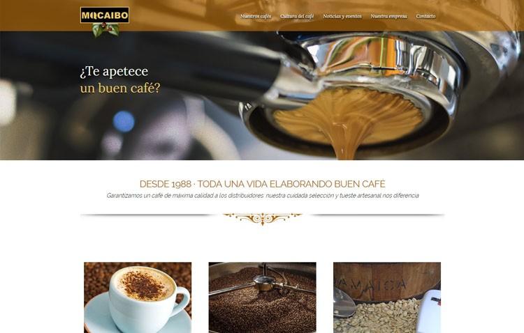La empresa utrerana Cafés Macaibo inaugura nueva página web