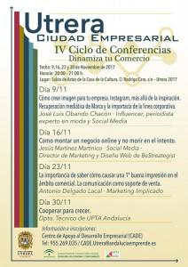 conferencias comercio - cartel 1